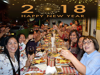 restaurant da sofia udon thani happy new year 2018